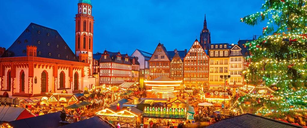 Basel Christmas Market.Rhine Christmas Markets