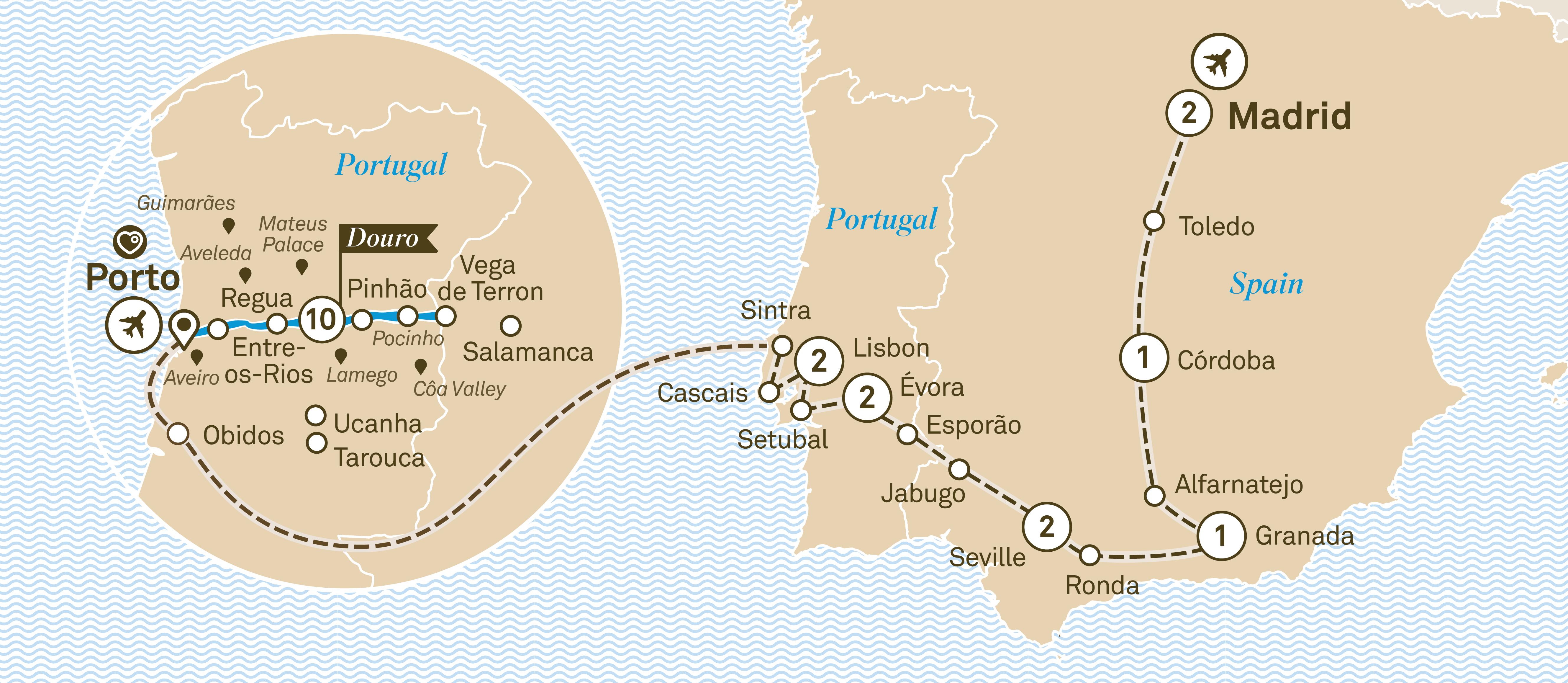 Iberian Grandeur Scenic Australia