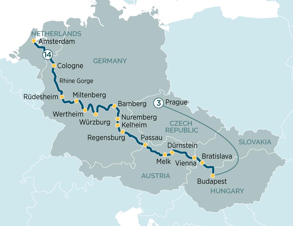 Splendours of Europe & Prague - Evergreen Tours