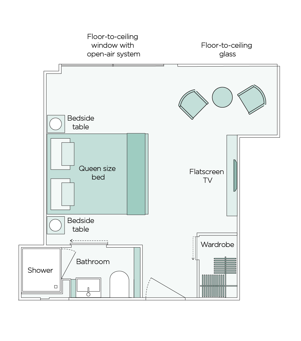 Owner's One Bedroom Suite  - SA