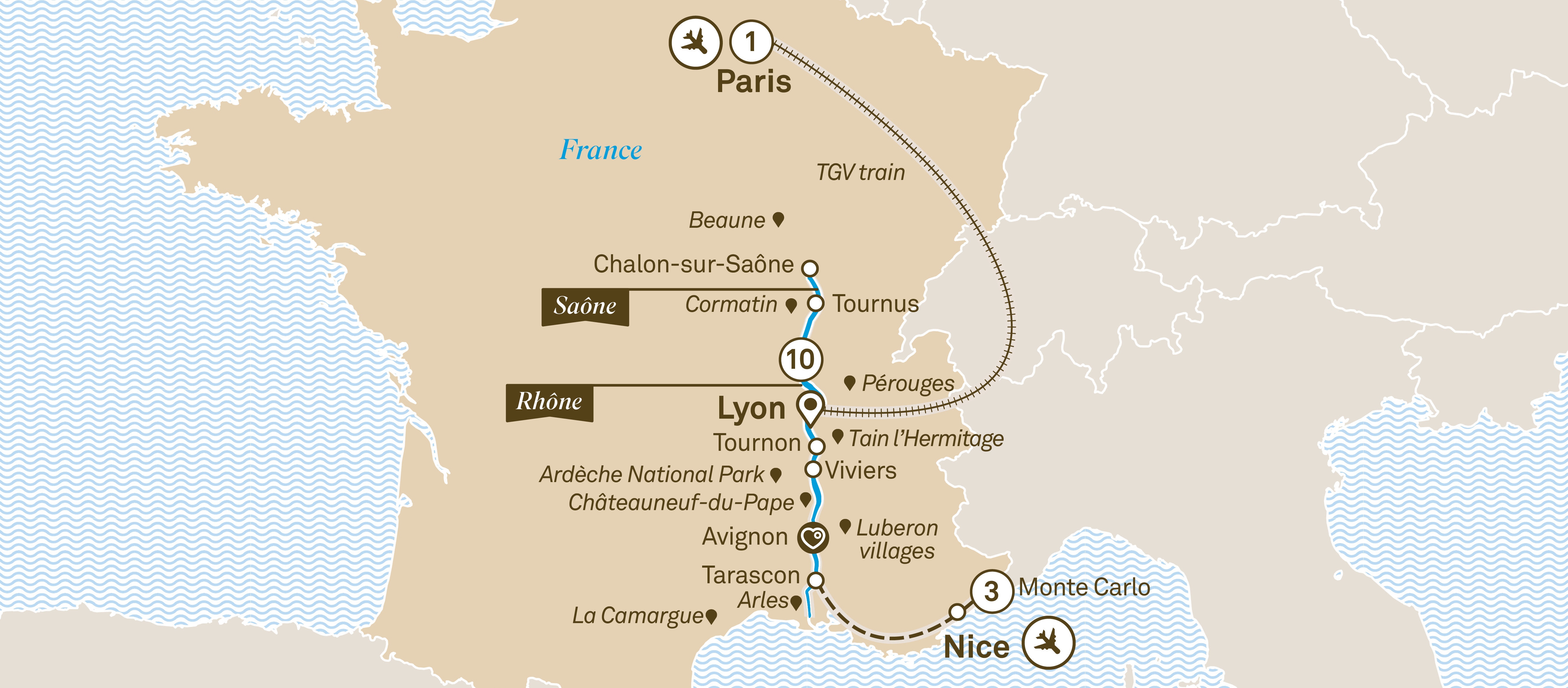 Spectacular South Of France With Monte Carlo River Cruises Europe