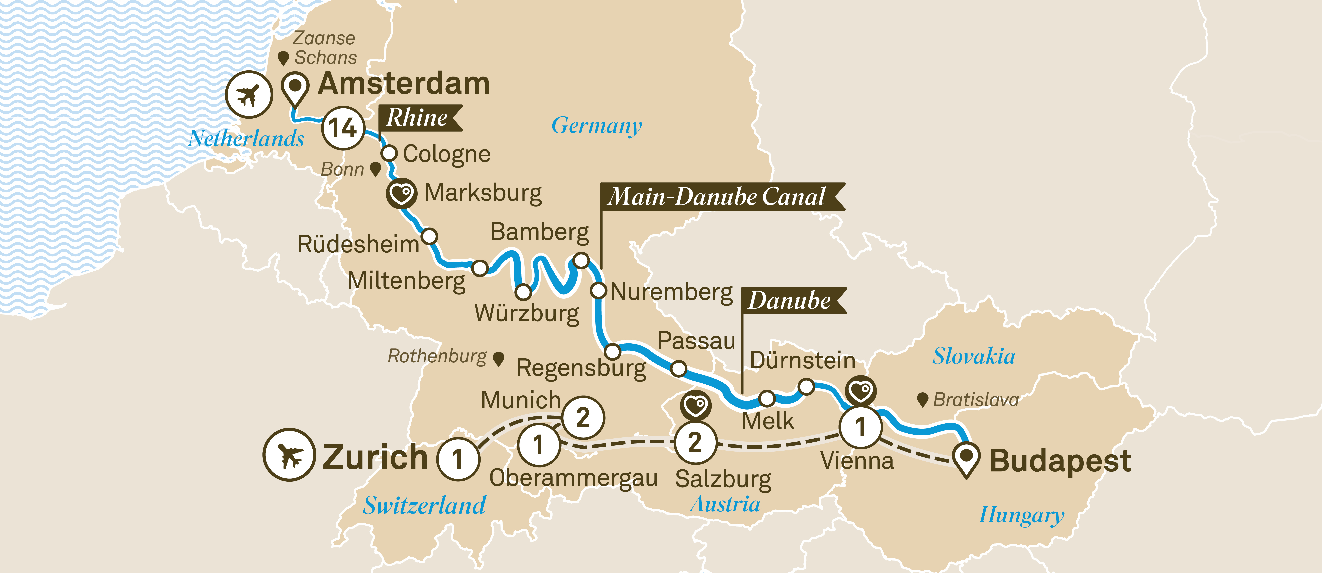 Jewels of Europe with Alpine Highlights & Oberammergau