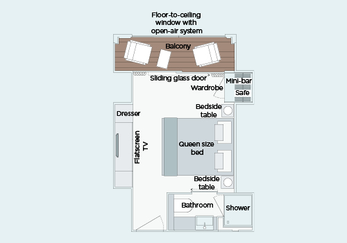 Grand Balcony Suite - S