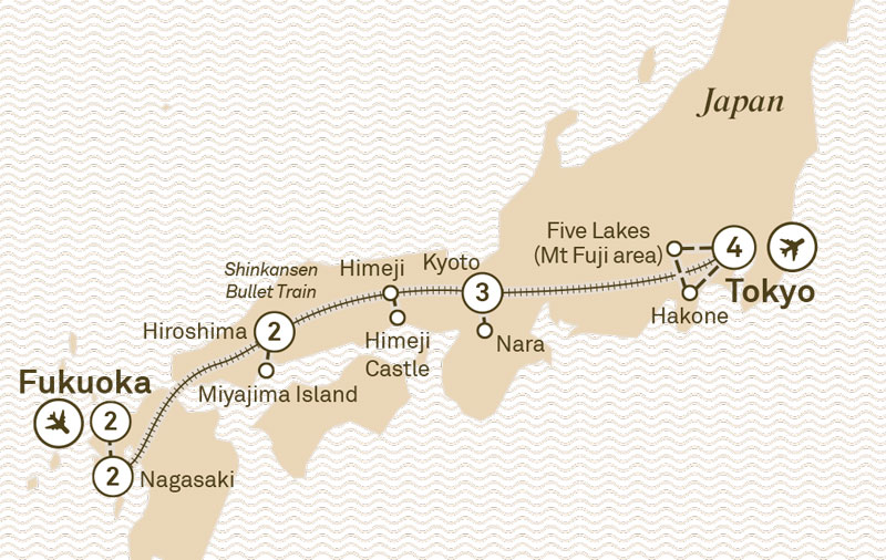 Japan Unveiled Scenic