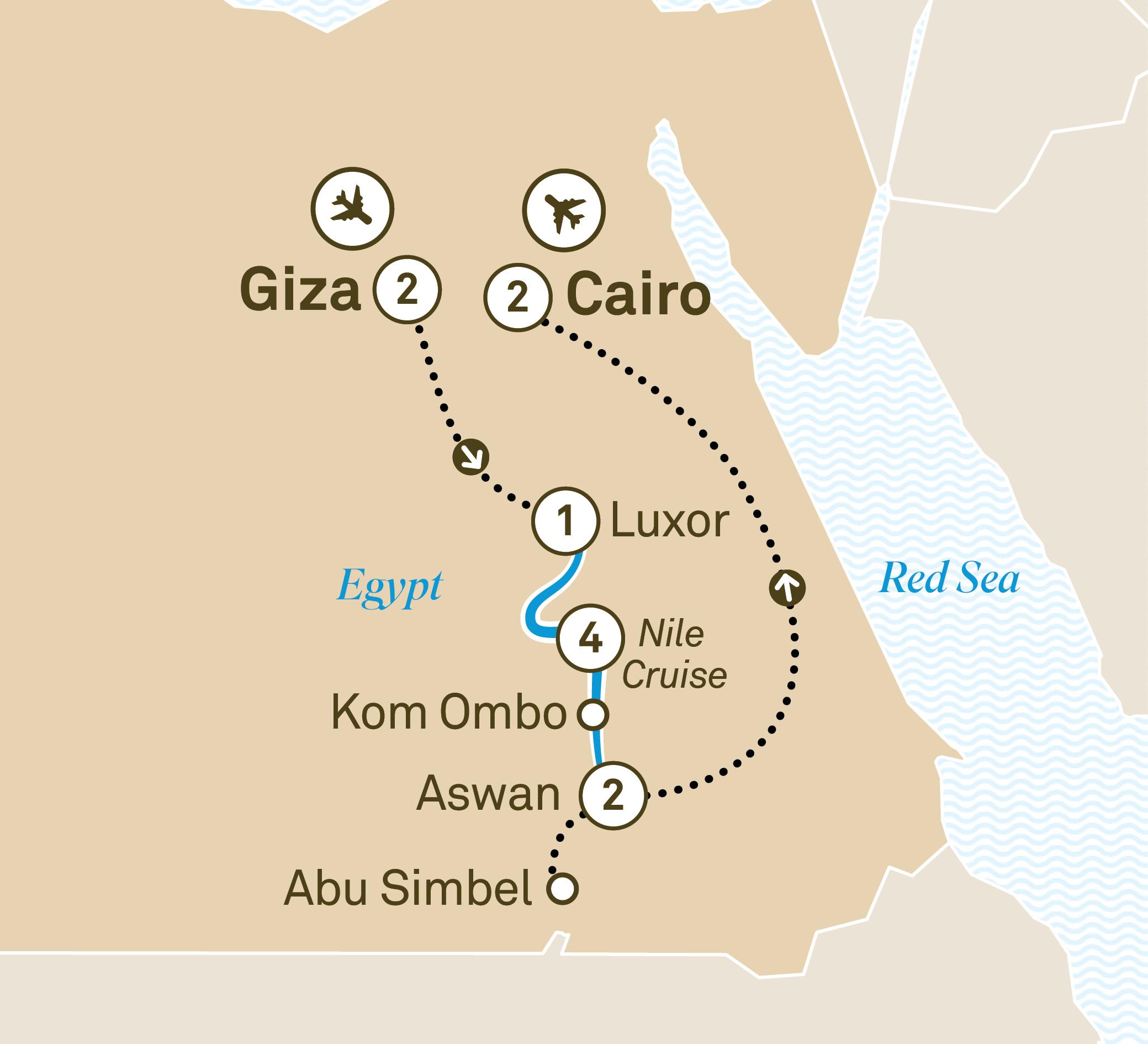Treasures Of Egypt Scenic Usa