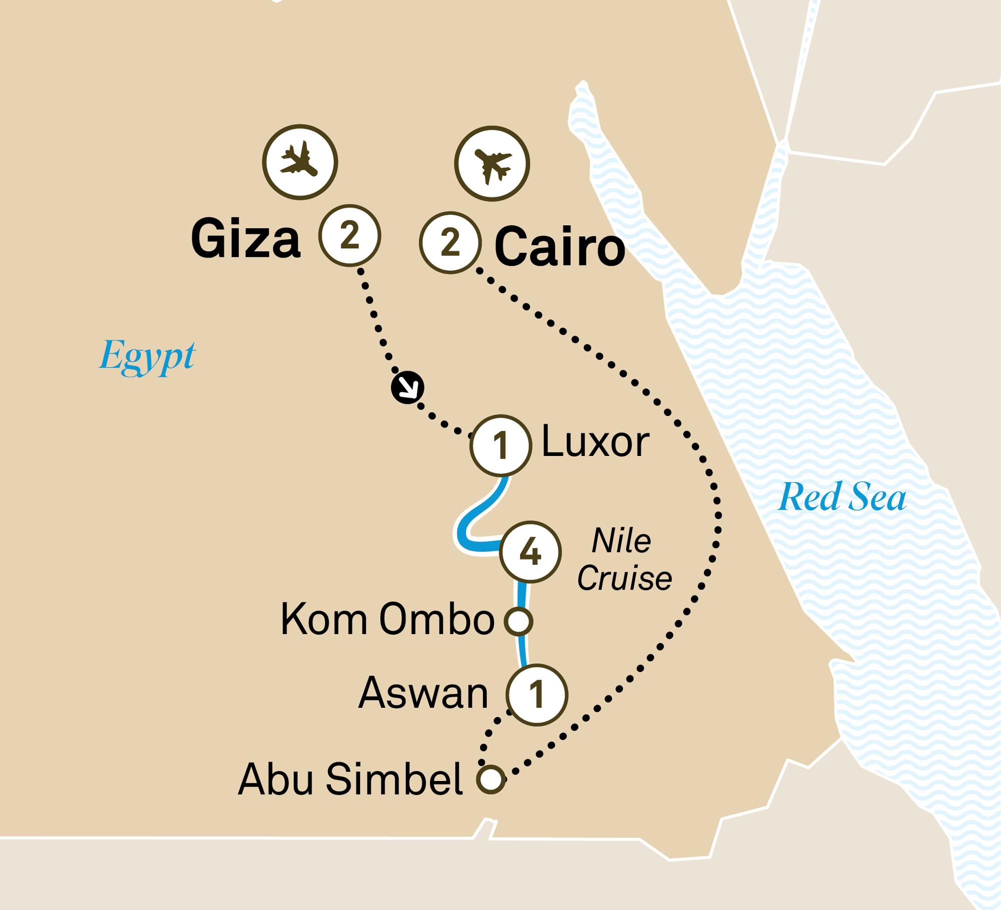Nile River Cruise Treasures Of Egypt