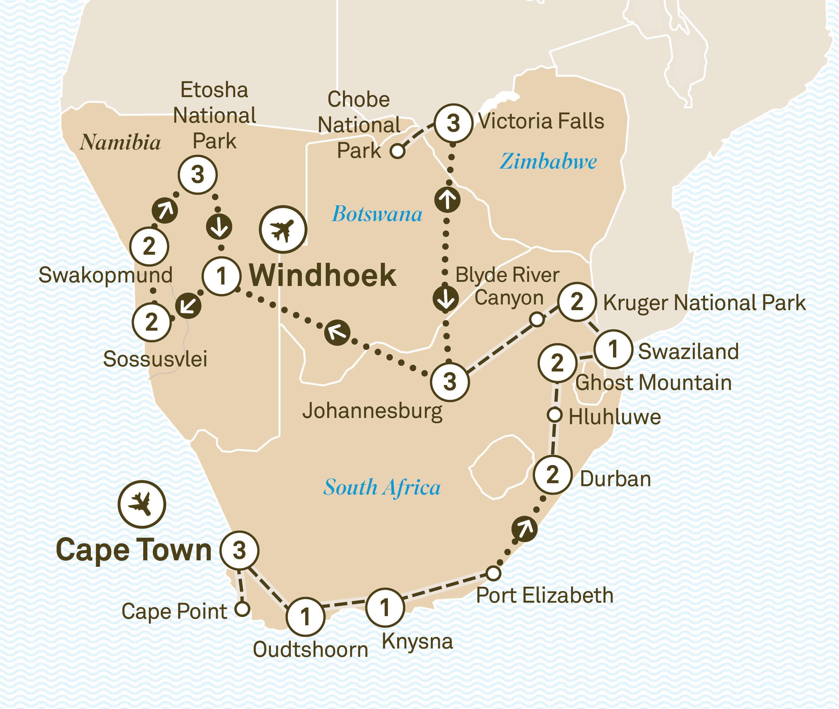 Map Of Africa Victoria Falls.South Africa Victoria Falls Namibia