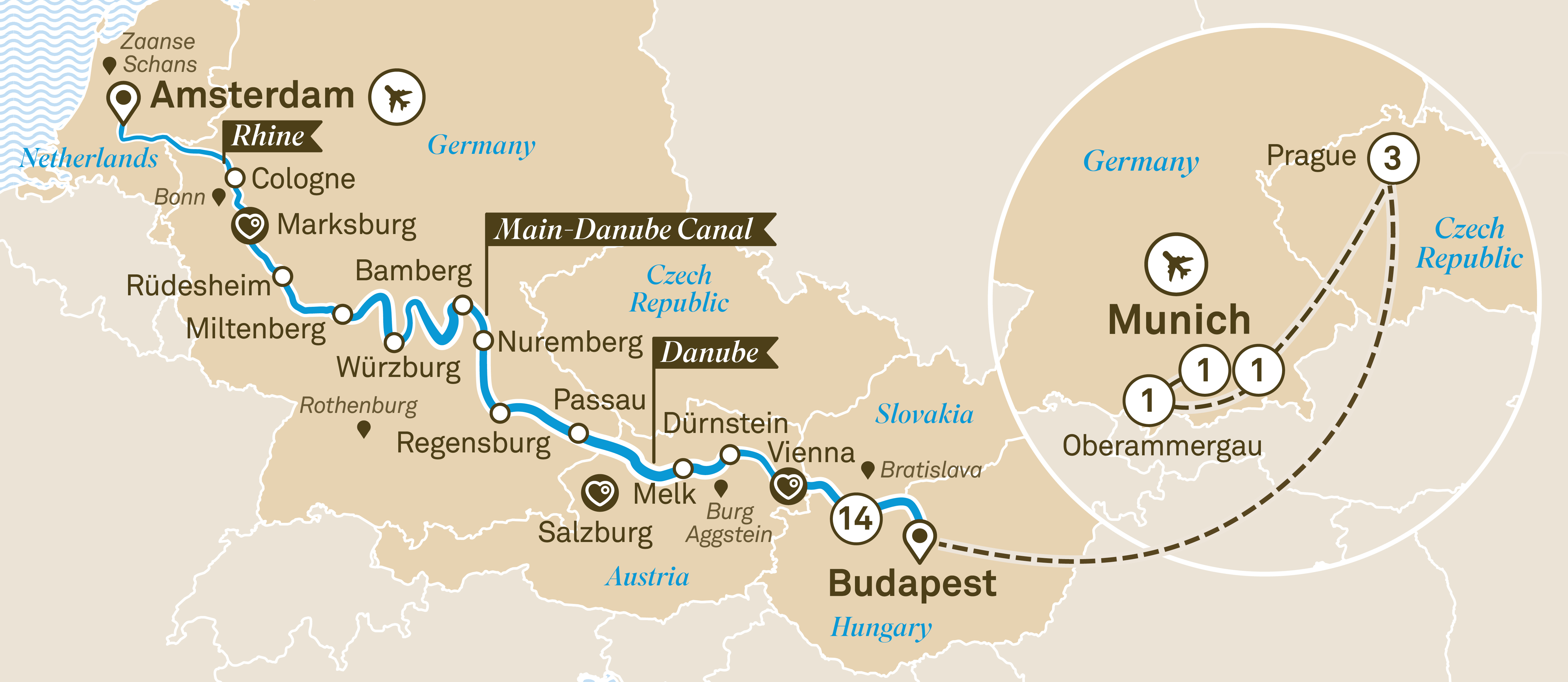 Jewels of Europe with Bohemian Sojourn & Oberammergau