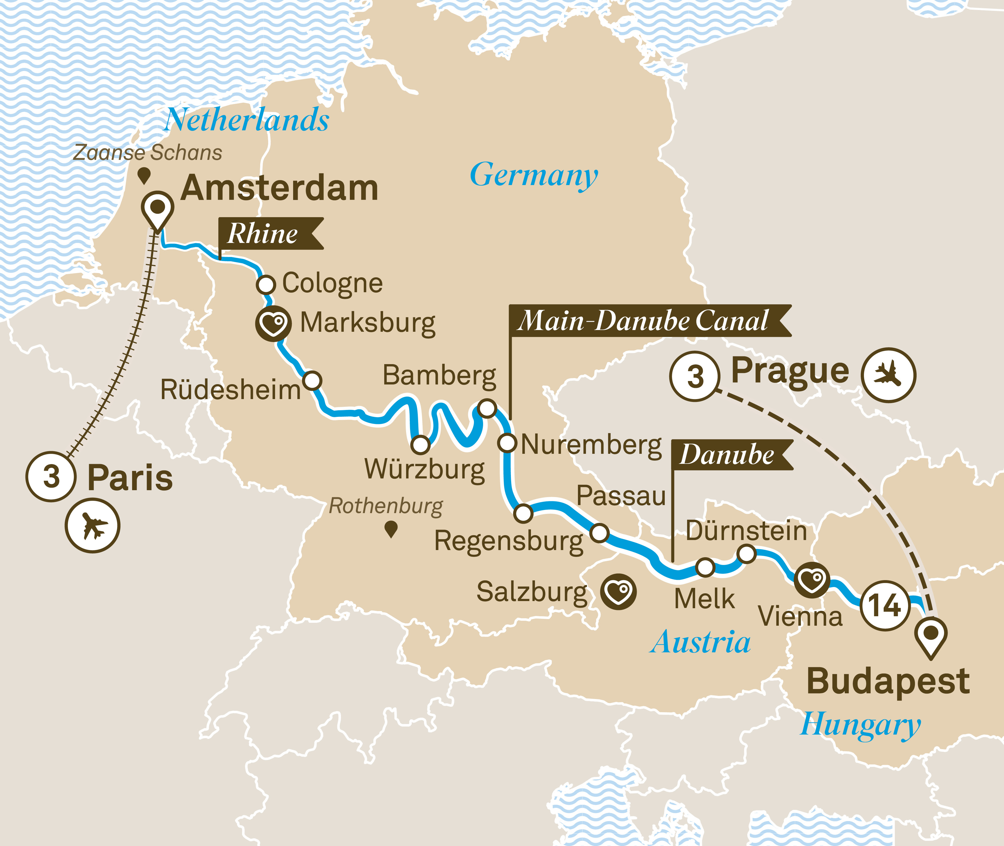 Discover Europe on a Luxurious All-Inclusive River Cruise   Scenic