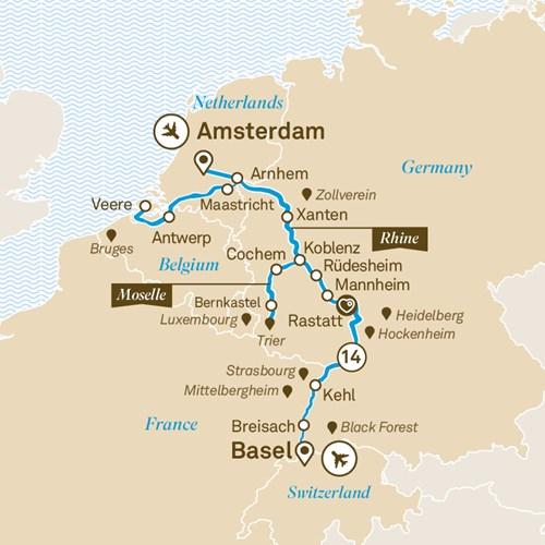 Romantic Rhine Amp Moselle Scenic