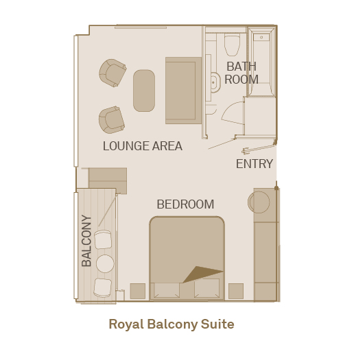 Royal Balcony Suite  - RA