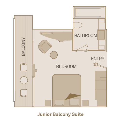Junior Balcony Suite - RJ