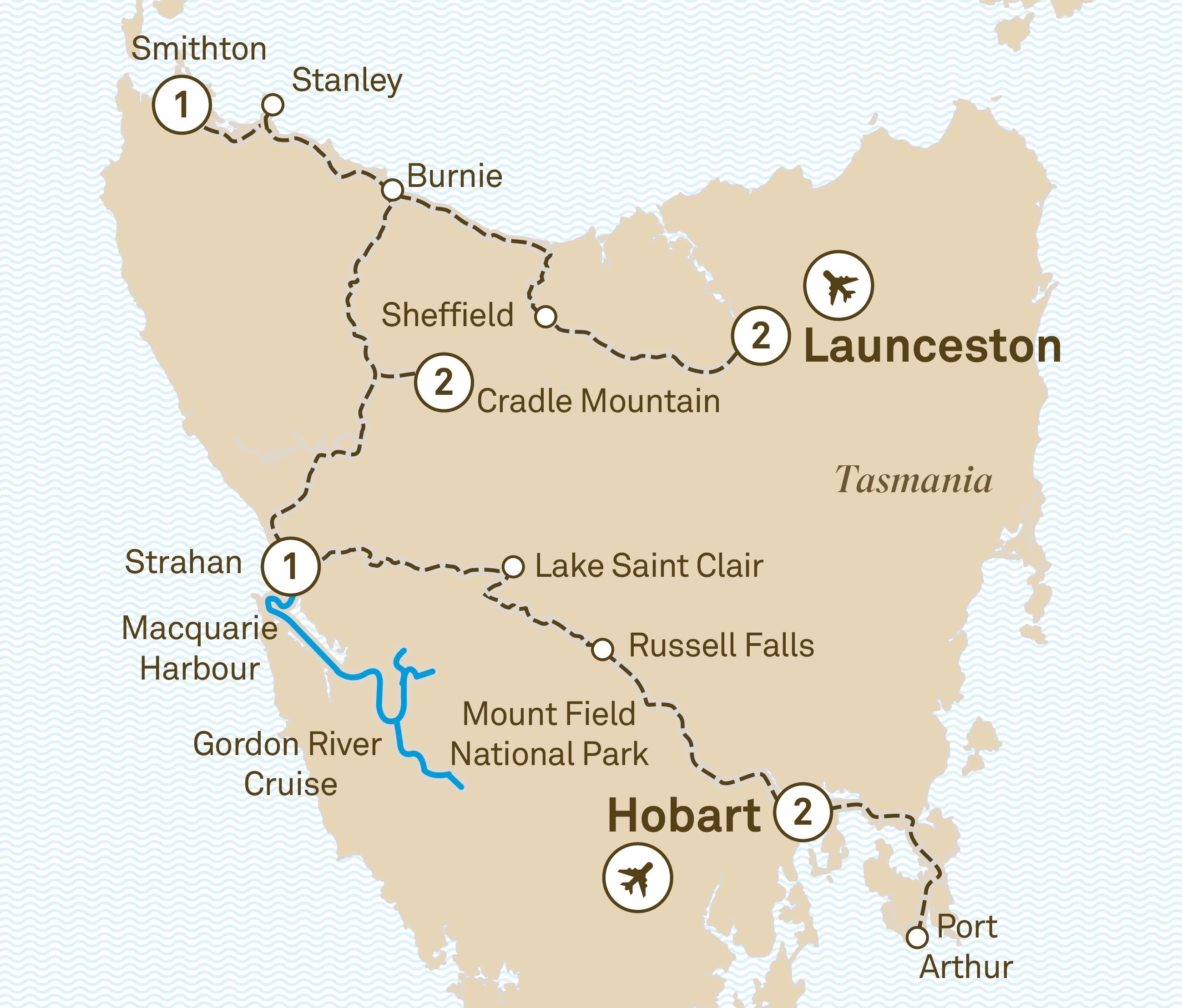 Burnie tasmania postcode
