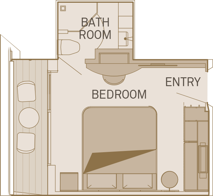 Balcony Suite - C