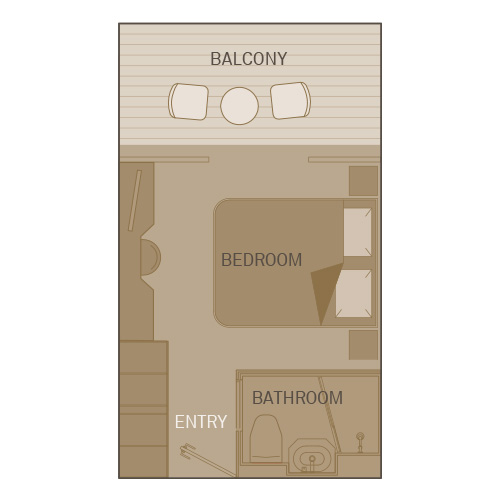 Deluxe Balcony Suite - PA
