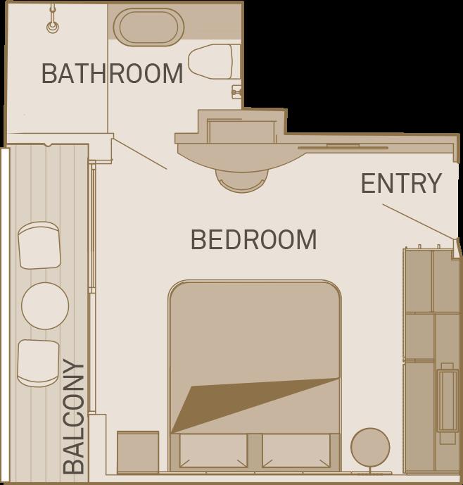 Deluxe Balcony Suite - PD