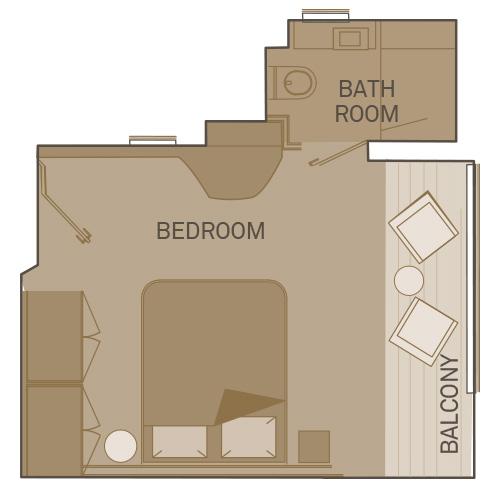 Junior Balcony Suite - RJ
