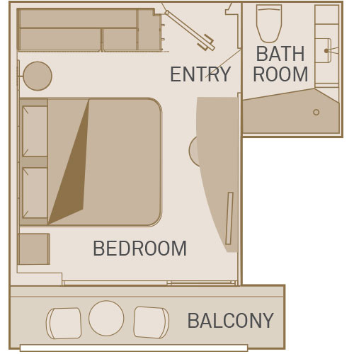 Balcony Suite - BB