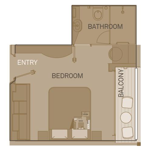 Deluxe Balcony Suite - BD