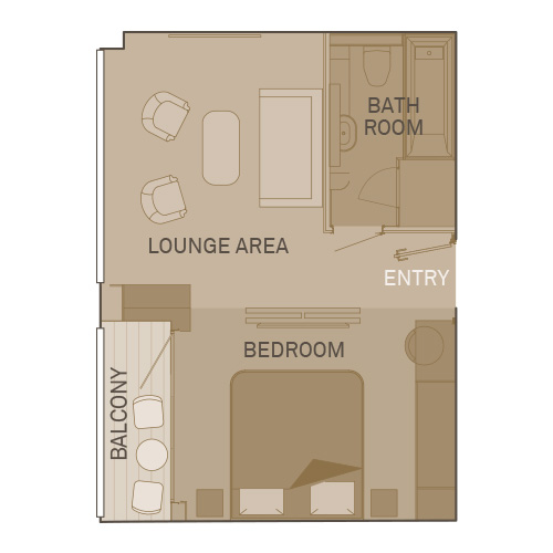 Royal Balcony Suite - RA