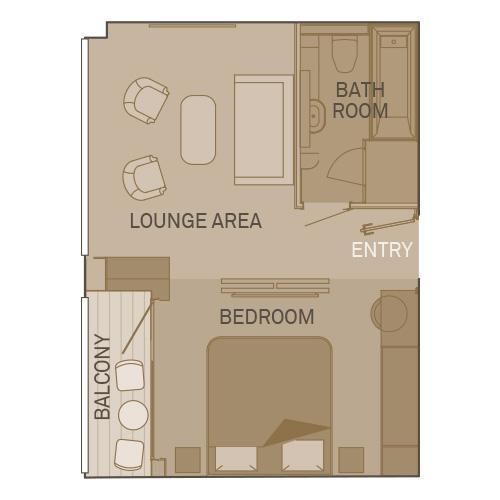 Royal Balcony Suite  - R