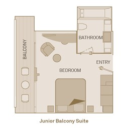Junior Balcony Suite  - BJ