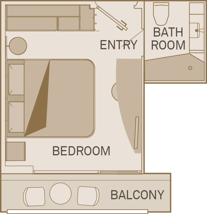 Balcony Suite - B